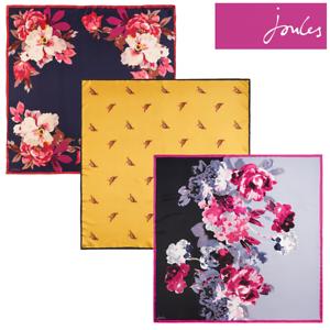 Joules Bloomfield Silk Scarf Z Free