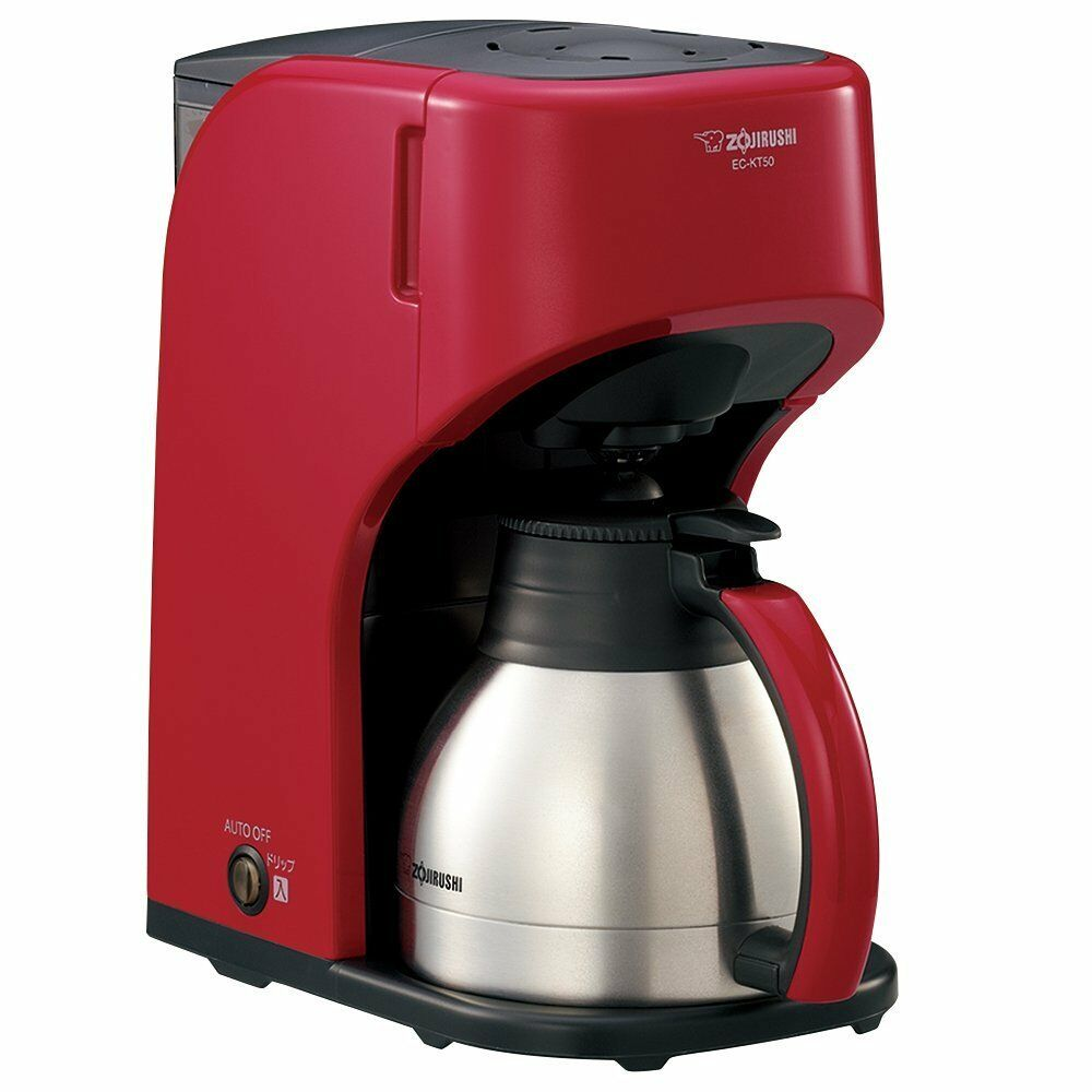 ZOJIRUSHI stainless server for 5 coffee makers  EC-KT50-RA rouge From Japan