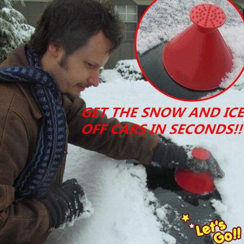 En forme de cône Grattoir à glace neige pour Voiture Automobile Pare-Brise-Bleu