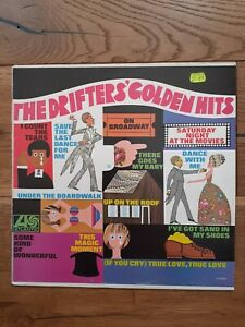 The-Drifters-The-Drifters-039-Golden-Hits-Atlantic-K-40018-Vinyl-LP-Compilation