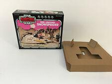 brand new star wars esb palitoy snowspeeder pink box + inserts