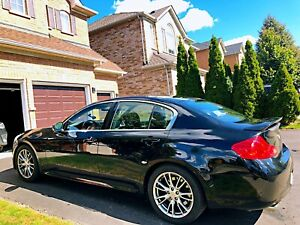 2007 Infiniti G35 Black