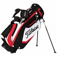 Titleist Lightweight Stand Bag Black/white/red Tb5sx6 on sale