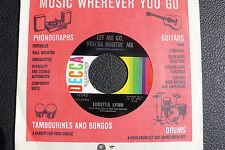 "7"" Loretta Lynn - Let Me Go, You're Hurtin' Me  - US DECCA"