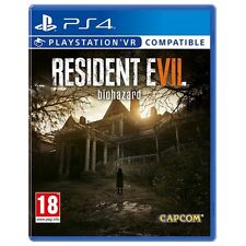 Resident Evil 7 Biohazard PS4 Game (PSVR Compatible) - Brand new!