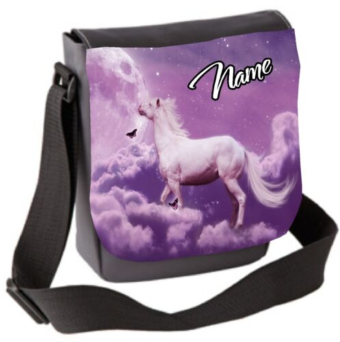Pink Horse Bag Personalised Small Sholder Hand Bag Great Birthday Gift
