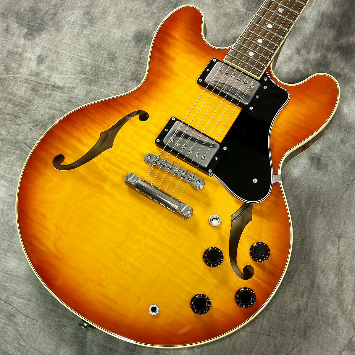 FUJIGEN MSA-HP Orange Burst Japan rare beautiful vintage popular EMS F   S