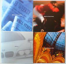 Prospekt BMW 5er E 39 Business/Exclusiv/M Sport-Paket, 1997, Mappe mit 3x6 S.