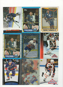 192-count-lot-mixed-Pierre-Turgeon-CARDS-Sabres-Blues-Canadiens-Star-Center