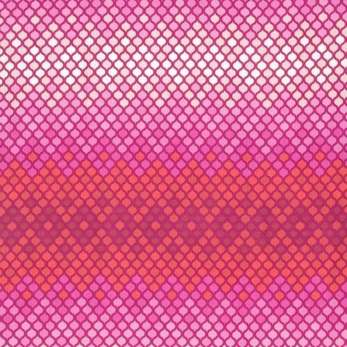 Tula pink Mosaic in Magenta EDEN cotton quilting and style fabric