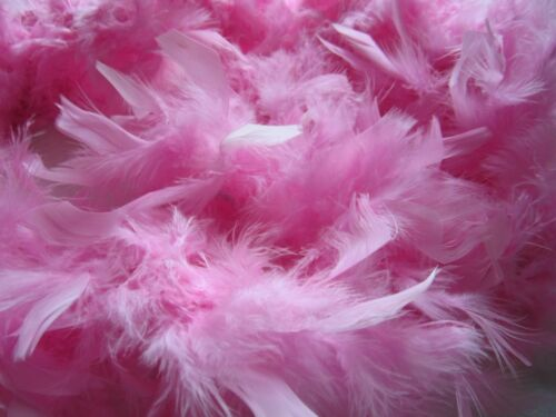 Chandelle Feather Boa Pink 72 Inches 60 Grams Bnew Authenticity Verified