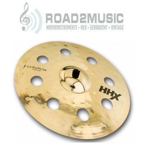 """Sabian HHX 18/"""" Evolution O-Zone Crash Becken Dave Weckl Drums   *ANGEBOT*"""