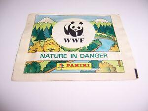 NATURA-DA-SALVARE-WWF-PACCHETTO-FIGURINE-PANINI-SIGILLATO-OTTIMO-RARO-LEGGI