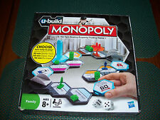 Monopoly U Build By Hasbro Property Trading Board Game Choose How Long To Play