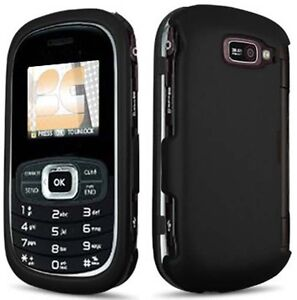 NEW-BLACK-RUBBERIZED-HARD-CASE-COVER-FOR-VERIZON-LG-OCTANE-VN530-CELL-PHONE