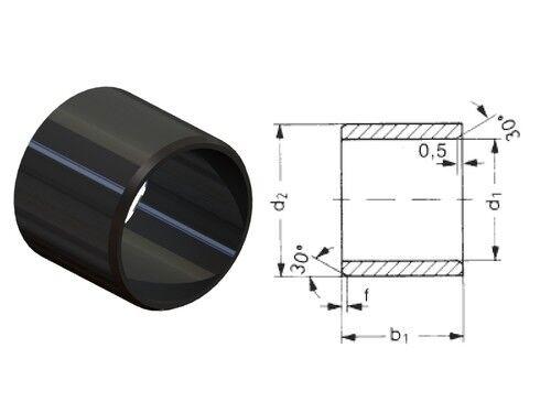 5 Stk cylindrical bearing Wähle d10- d14 wartungsfreie Gleitlager Kugelbuchse