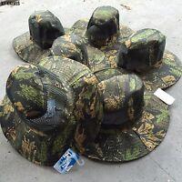 Wholesale Lot 6 Australian Outback Safari Bucket Flap Boonie Hat W/mesh Ht-851-6