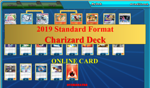 Charizard Deck The Best 2019 Standard Format Pokemon TCG Online PTCGO Sent FAST