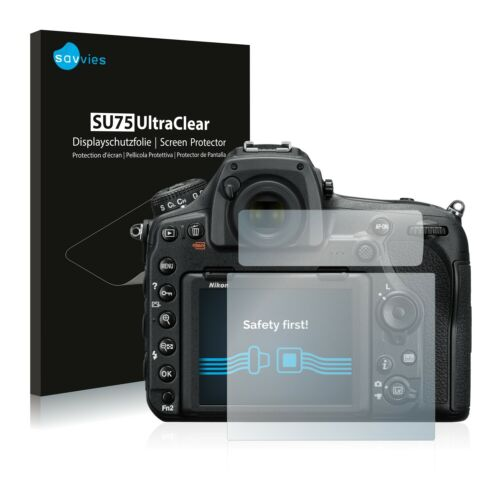 18x Displayschutzfolie für Nikon D850 Klar Transparent Schutzfolie Displayfolie
