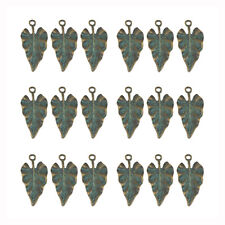 5 Or 10PCs Mariner/'s Compass 27mm Antiqued Copper Blue Patina Charms C5862-2
