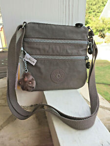 NWT-KIPLING-Alvar-XS-Crossbody-Purse-AC8657-new-bran