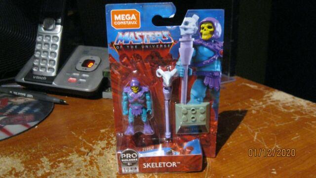 MEGA CONSTRUX MASTERS OF THE UNIVERSE SKELETOR MOTU IN HAND!