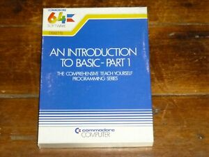An Introduction To Basic-partie 1 Disque De Logiciels Pour Commodore 64-afficher Le Titre D'origine Luxuriant In Design