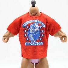 JOHN CENA Red nexus T- Shirt WWE Mattel Elite for Wrestling Figures
