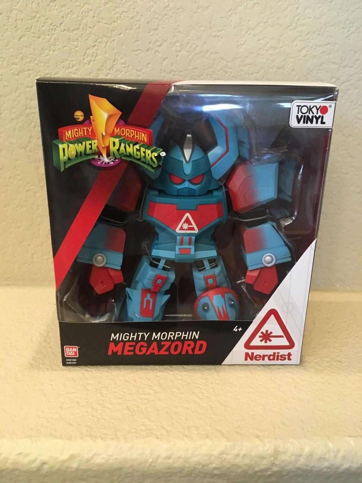Nerdist Limited Edition Mighty Morphin Power Rangers Dino Megazord Tokyo Vinyl
