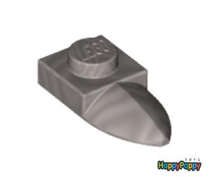 Lego 10x Platte 1x1 mit Zahn Horizontal Flat Silver Plate Tooth 49668 Neu New