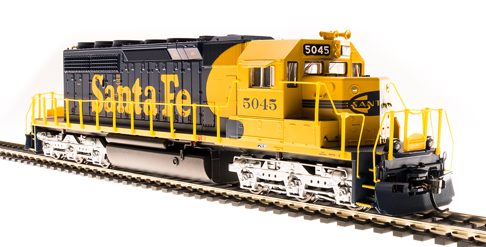 5361 Broadway Limited EMD SD40-2 Low-Nose with Sound & DCC Santa Fe  5045