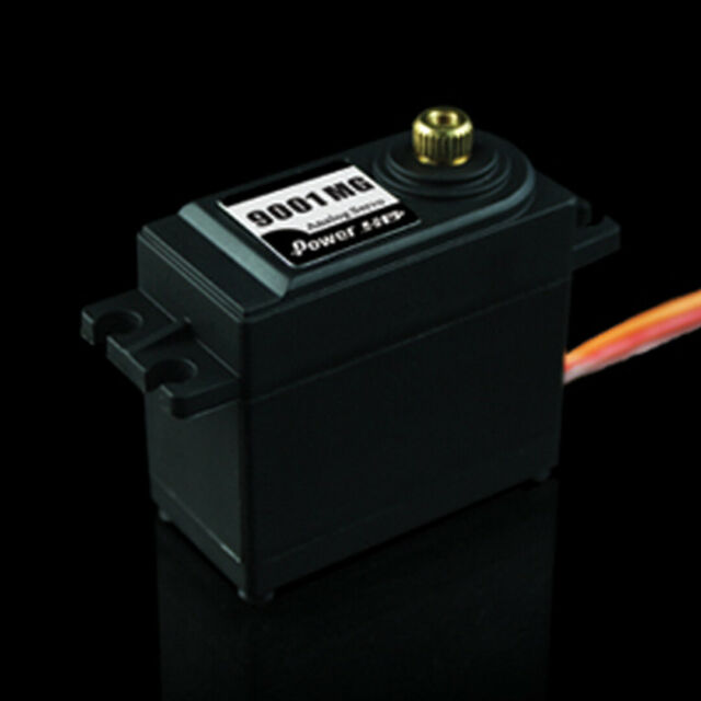 Power HD 9001MG Servo Standard Analog Servos Metal Gear 9.8KG for 1//10 RC Car