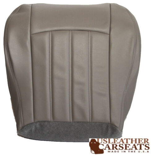 2007 Chrysler 300 Driver Bottom Leather Seat Cover Gray