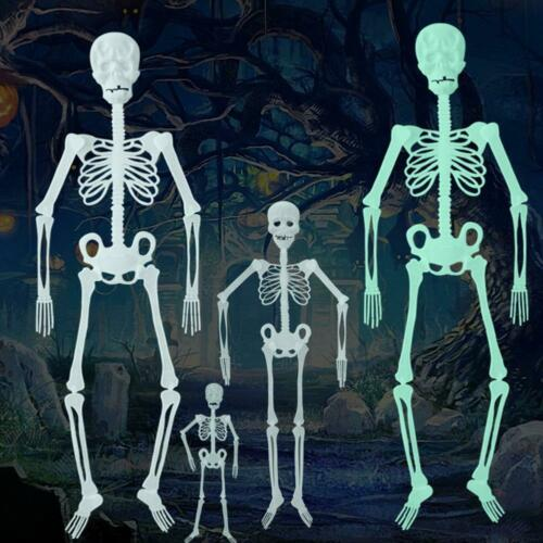 Luminous Skull Skeleton Body Halloween Toy Decor Haunted House Tricky Prop Fast
