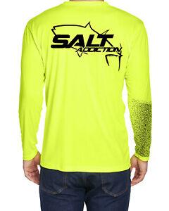 Salt Zone Performance Wear Mens saltwater long sleeve fishing shirt reel life