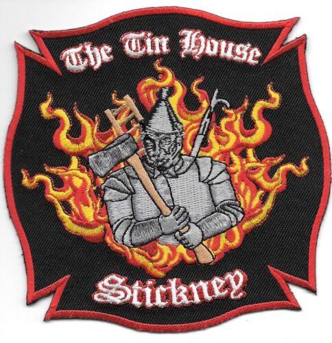 "4.5/"" x 4.5/"" size Illinois Stickney  /""The Tin House/"" fire patch"
