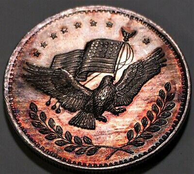 United States of America Eagle Silver Trade Unit 1 oz Silver Round .999 Fine