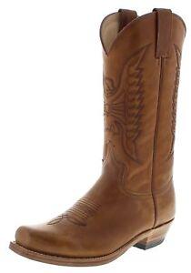 58 Sendra Beige 2073 Cowboystiefel Westernstiefel Boots Stiefel OUxqw16