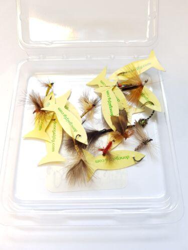 £ 20 Brand New donagal Dry Flies 10 Per Pack RRP £ 15