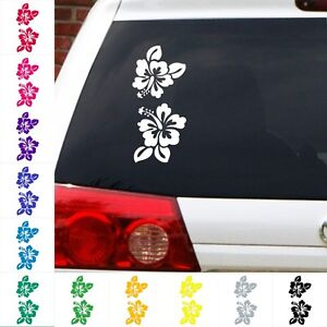 Hibiscus-flower-decal-Hawaiian-Hawaii-tropical-sticker