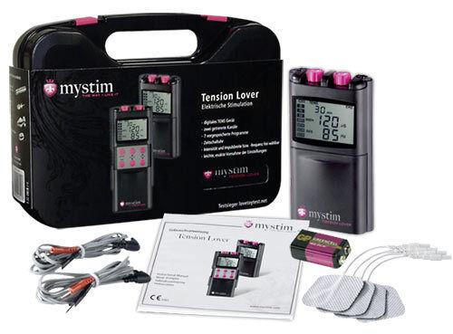 Koffer Stimulation Elektrisch Electro Mystim Spannung Lover 7 Funktionen