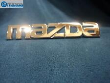 MAZDA RX-8 2004-2011 NEW OEM REAR MAZDA EMBLEM