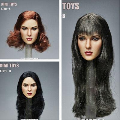 KIMI TOYS 1//6 Beauty European/&American Head Sculpt KT011-C F 12/'/' Female Body