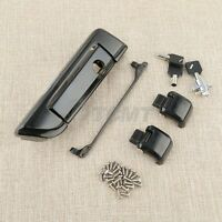 Black Tour Pak Pack Trunk Latch For Harley Touring Road King Glide 2014-2017