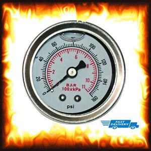 liquide-essence-Pression-JAUGE-INJECTION-reglable-Regulateur-160-PSI-11-BARRE