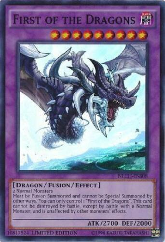 First of the Dragons NECH-ENS08 Super Rare NM The New Challengers VDF