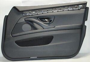 Door-Panel-BMW-5ER-F10-F11-Front-Right-Leather-Dakota-Black-Orig-7273354