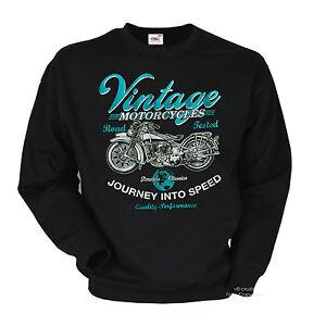 Motard Sweat Vintage Moto Classic Moto Vintage Légende 4015