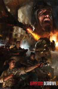 "Call Of Duty Black Ops 3 Gorod Krovi Poster 48x32"" 36x24"" Zombies Print Silk"