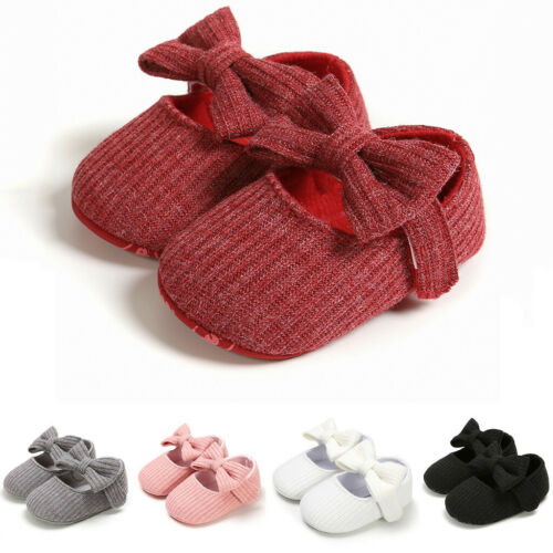 Baby Boots Toddler Girls Boys Bowknot Shoes Kids First Walkers Shoes Booties V